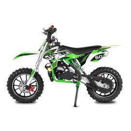 Mini Moto 49ccm3 KXD II GAZZELE / green