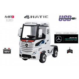 MERCEDES ACTROS pogon 4MATIC 4X4 - RC - radio - LED