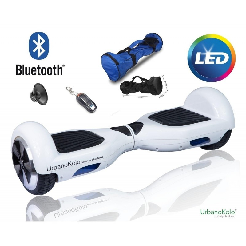 URBANO KOLO H1 700 W pogon /  power by SAMSUNG / BLUETOOTH / LED / TORBA / MOBILNA APLIKACIJA