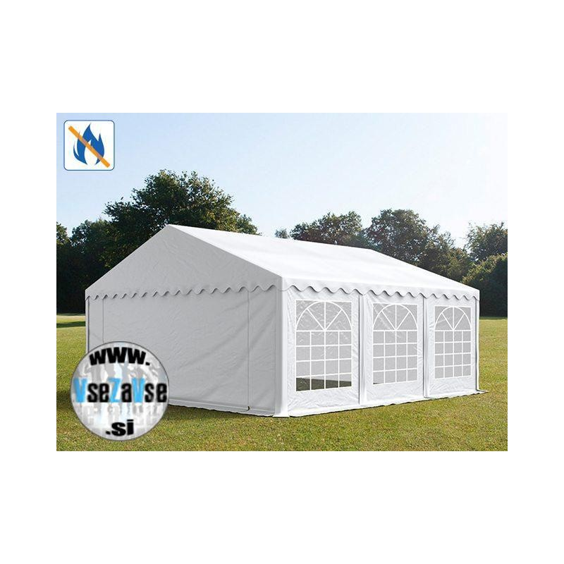 5 x 6m Party šotor PVC / negorljivo