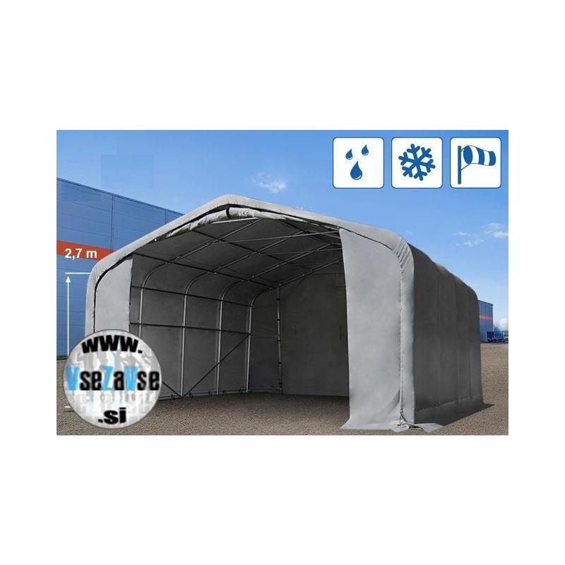 XL garažni skladiščni šotor / PVC / 7x7m / višina 3.8m