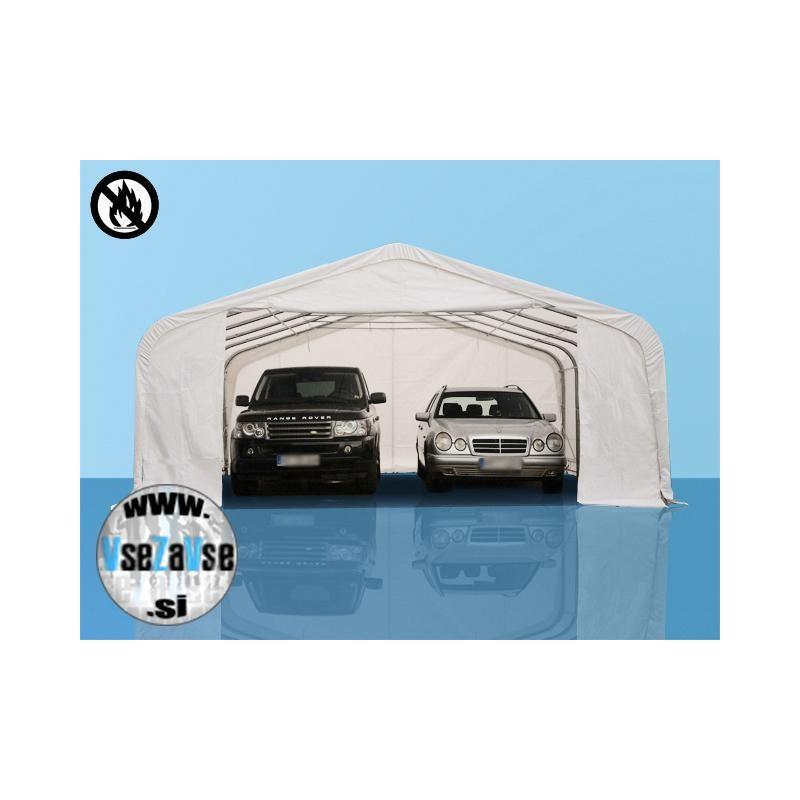 XL skladiščni - garažni šotor PVC / negorljivo / širina 6m / višina 2.6m / dolžina od 6m do 36m