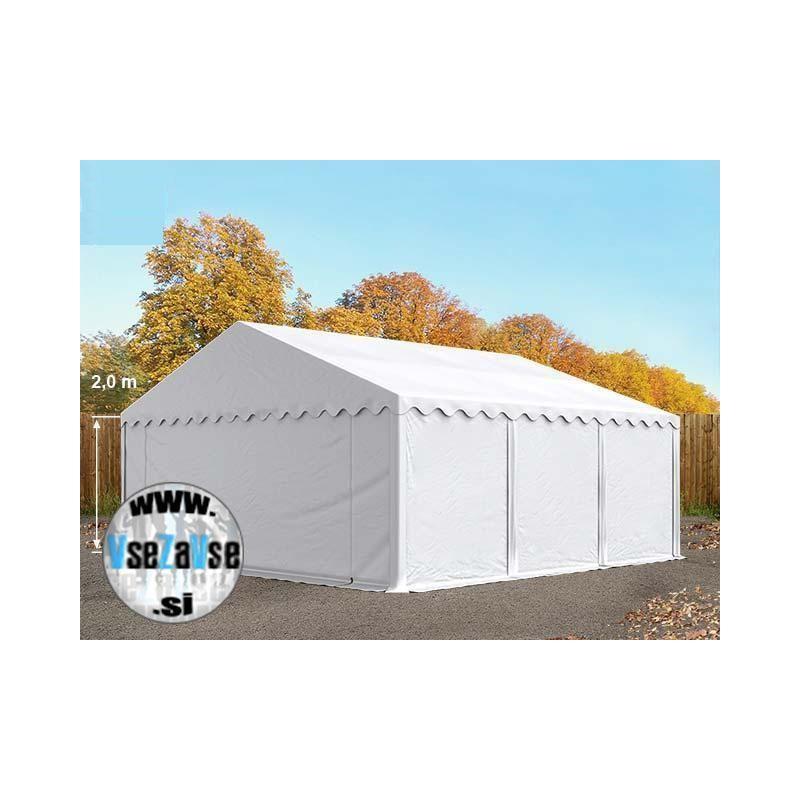 Sezonski skladiščni šotori / širina 6m / stranska višina 2m