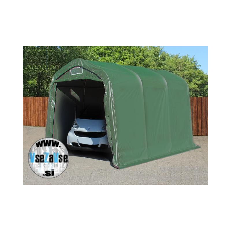 Garažni šotor PVC / 2.4 x 3.6m / višina 2.4m
