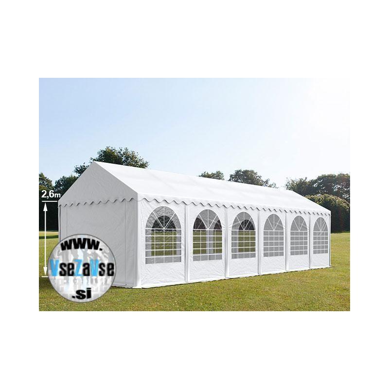 4 x 12m XXL Party šotor PVC