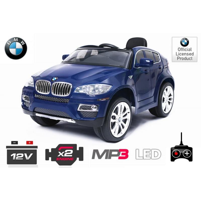 Elektro avto BMW X6 / RC voden / za dva otroka / LED luči / MP3