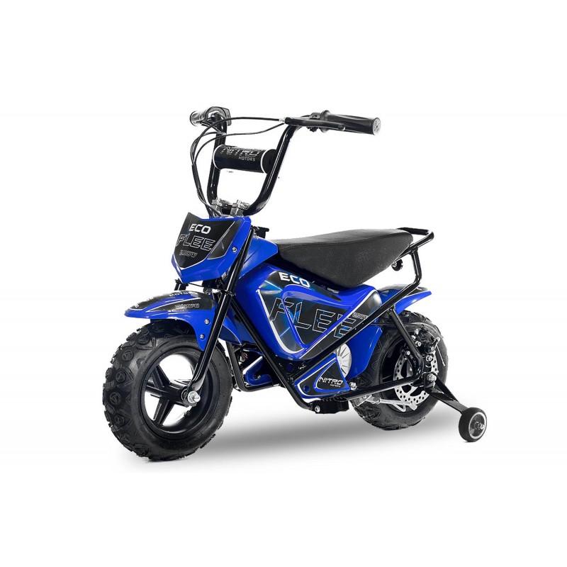 E-bike 250W s pomožnimi kolesi