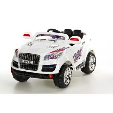 Elektro avto AUDI Q / RC voden / za dva otroka / LED luči / MP3
