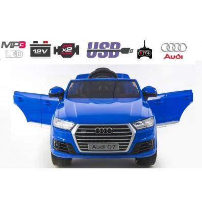 AUDI Q7 SUV 12V / metalik / radijski sprejemnik / LED