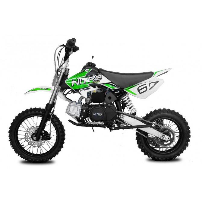 "125cc Dirtbike Storm 14/12"" / 4-taktni / Kick-Start"