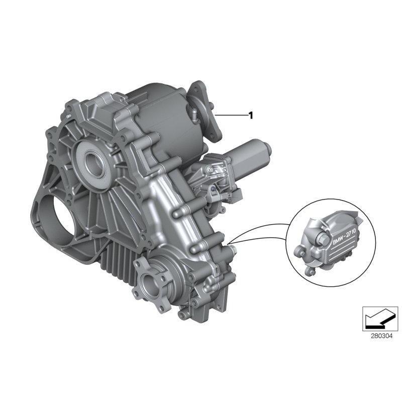 BMW X3 (l.2003 naprej) / pogonska enota