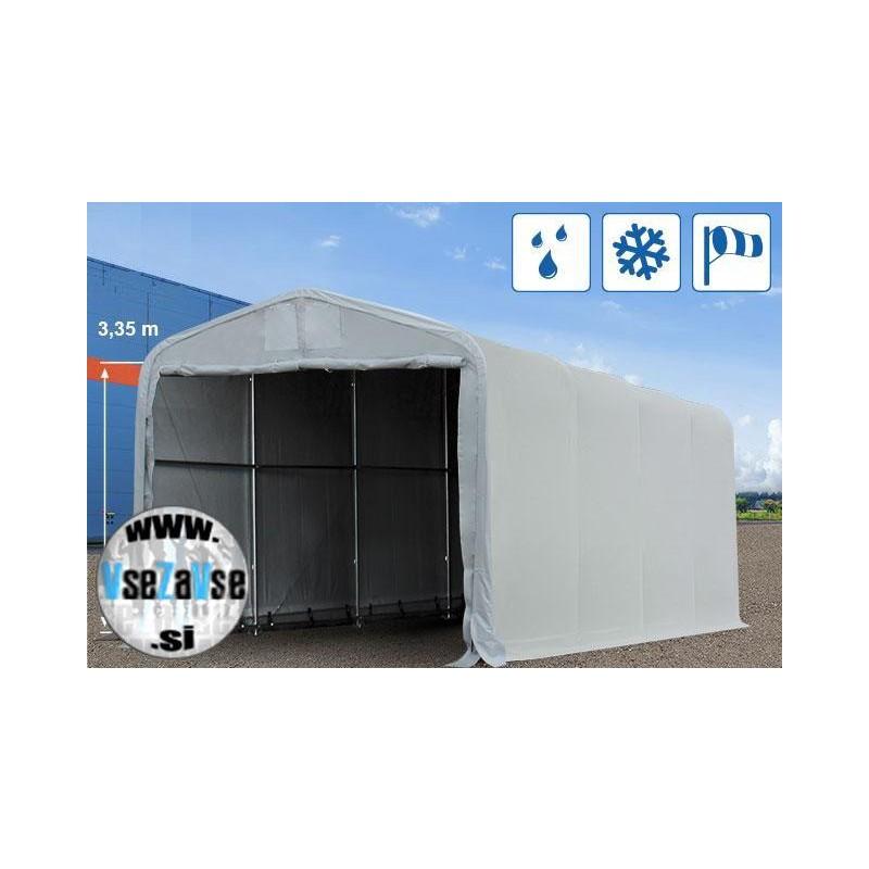 XL garažni šotor / PVC / 4x8m / višina 4.3m