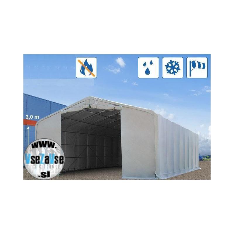 Garažni šotor PVC / negorljivo / 8x12m / višina 4.25m