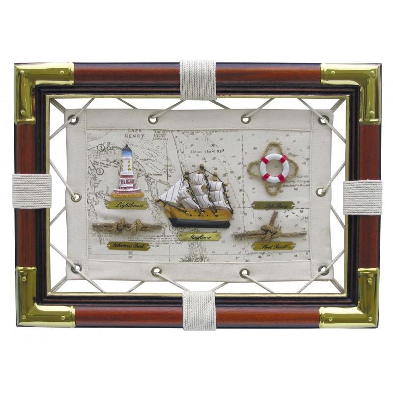 Slika z morskimi motivi