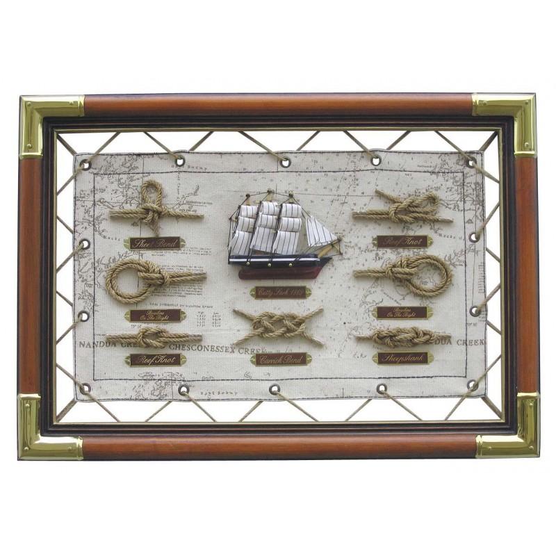 Slika z mornarskimi vozli