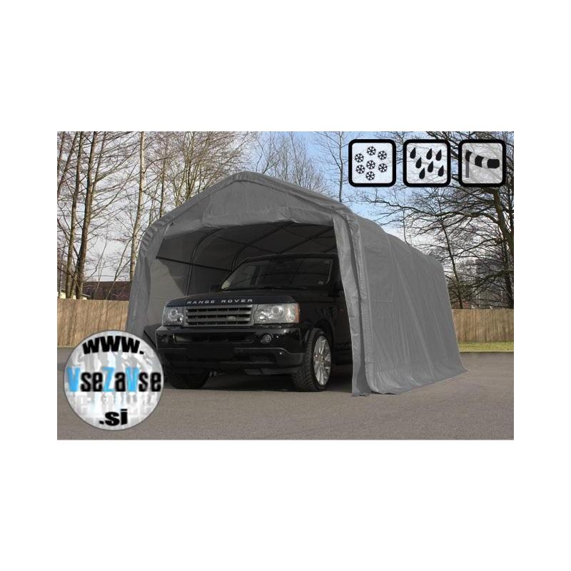 Garažni šotori PVC širine 3.3m / dolžina od 4.8m do 7.2m