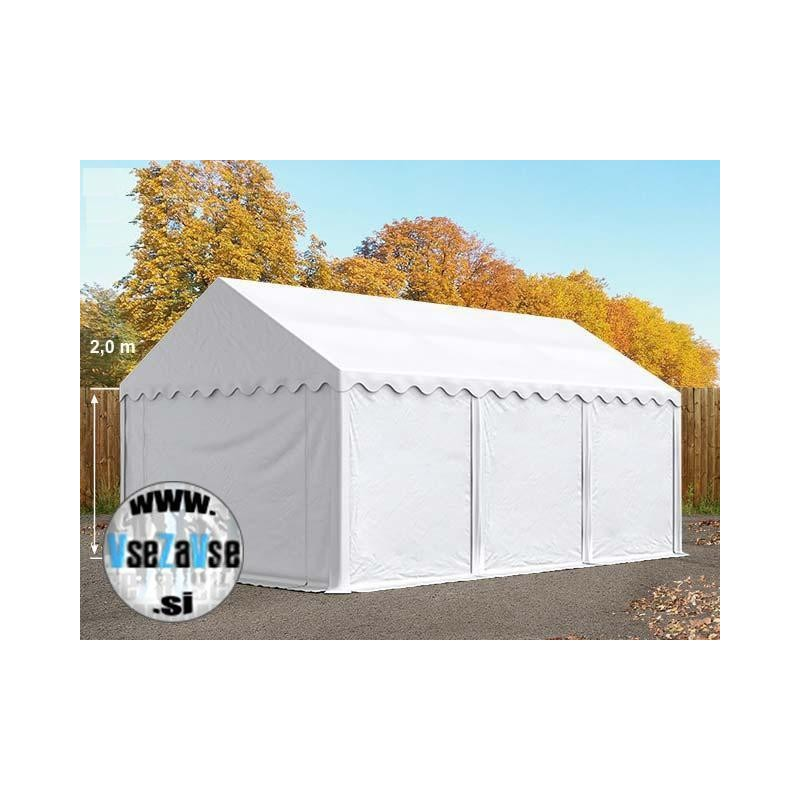 Sezonski skladiščni šotori / širina 4m / stranska višina 2m