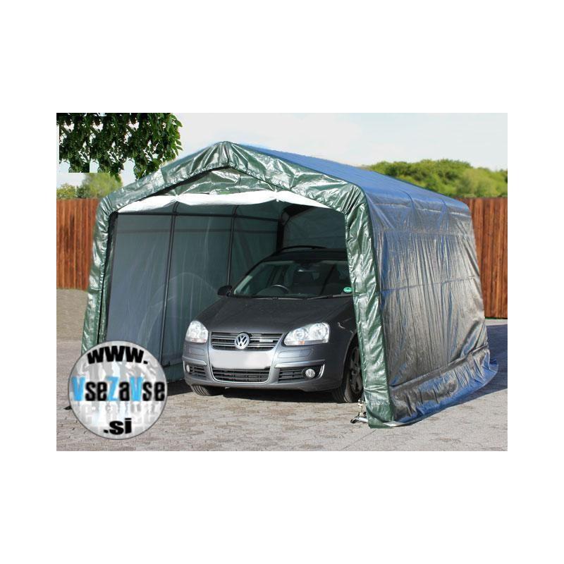 Garažni šotori PE širine 3.3m / dolžina od 4.8m do 7.7m