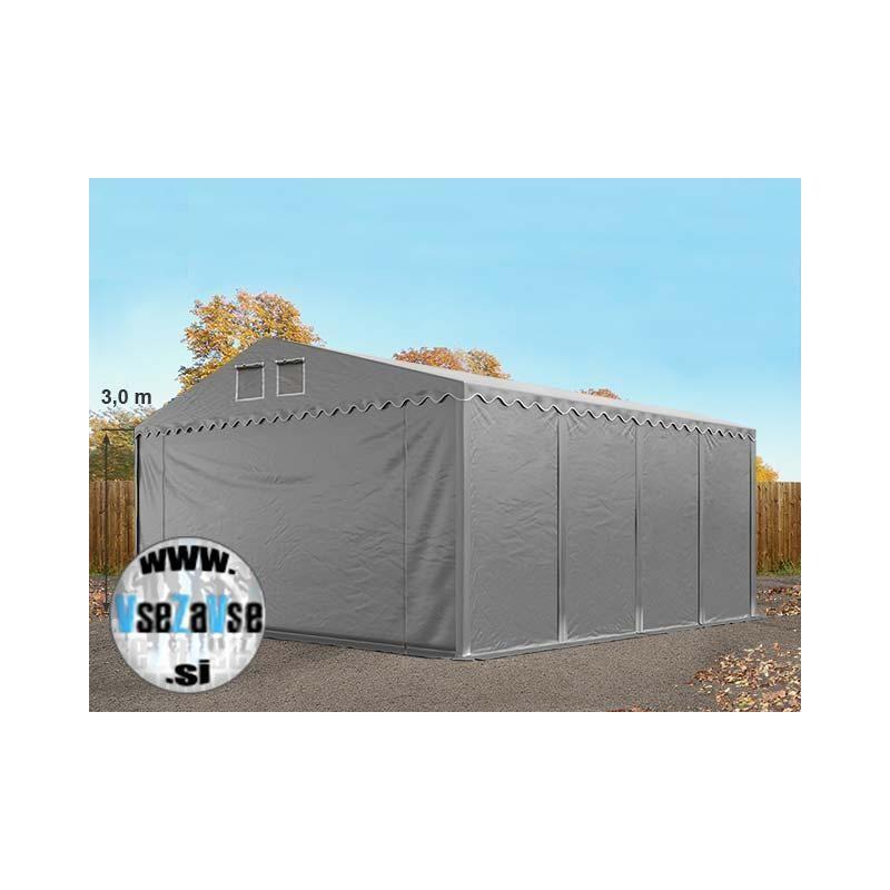 XL / negorljivi / skladiščni šotori / širina 8m / stranska višina 3m