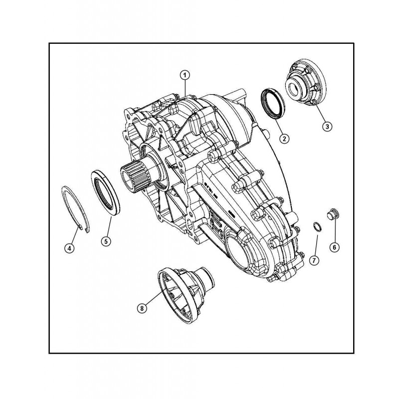 MERCEDES ML (l.2005-2011) / pogonska enota